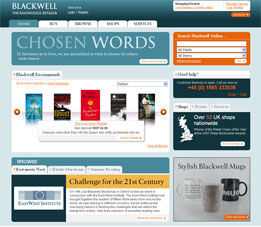 The Blackwell Online Homepage