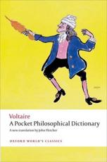 ISBN: 9780199553631 - A Pocket Philosophical Dictionary