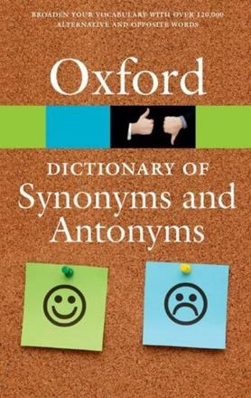 ISBN: 9780198705185 - The Oxford Dictionary of Synonyms and Antonyms