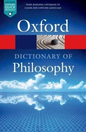 ISBN: 9780198735304 - The Oxford Dictionary of Philosophy