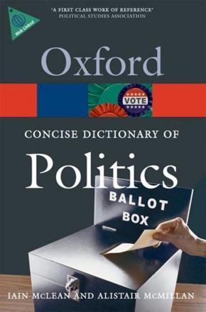 ISBN: 9780199205165 - The Concise Oxford Dictionary of Politics
