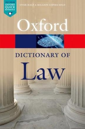 ISBN: 9780199664924 - A Dictionary of Law