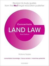 ISBN: 9780199654215 - Land Law Concentrate