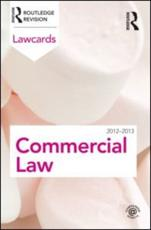 ISBN: 9780415683296 - Commercial Lawcards 2012-2013