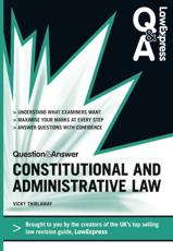 ISBN: 9781408241240 - Law Express Question and Answer: Constitutional and Administrative Law
