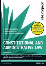 ISBN: 9781408271742 - Law Express: Constitutional and Administrative Law (Revision Guide)