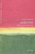 ISBN: 9780192853905 - Judaism