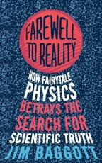 ISBN: 9781780334929 - Farewell to Reality