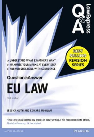 ISBN: 9781292066899 - Law Express Question and Answer: EU Law (Q&A Revision Guide)
