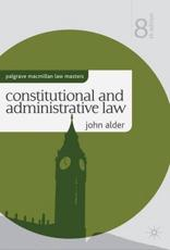 ISBN: 9780230285705 - Constitutional and Administrative Law