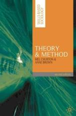 ISBN: 9780230217812 - Theory and Method