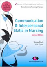 ISBN: 9780857254498 - Communication and Interpersonal Skills in Nursing