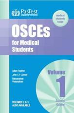 ISBN: 9781904627098 - OSCEs for Medical Students (v. 1)