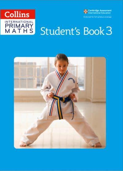 jacket, Collins International Primary Maths. Student's Book 3
