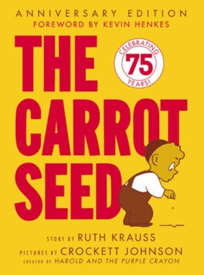The Carrot Seed, picture book to use as a sensory story.