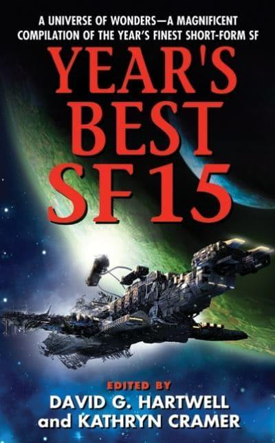 jacket, Year's Best SF 15