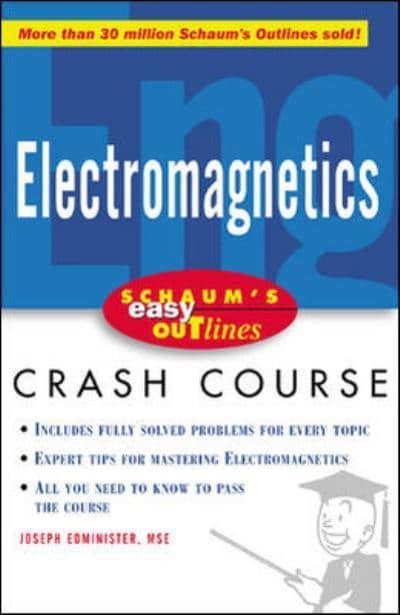 electromagnetics joseph edminister author 9780071398794 rh blackwells co uk