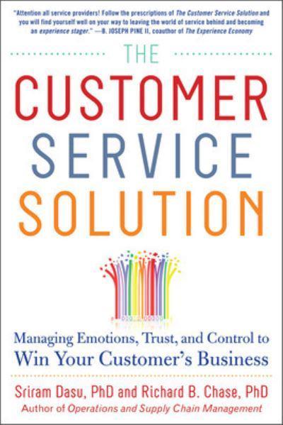 The Customer Service Solution : Sriram Dasu, : 9780071809931
