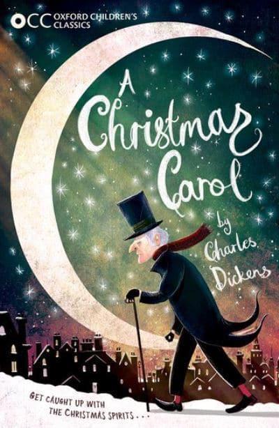 A Christmas Carol Book Cover.A Christmas Carol Charles Dickens Author