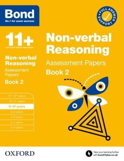 Bond 11+ Non-Verbal Reasoning Assessment Papers 9-10 Years Book 2
