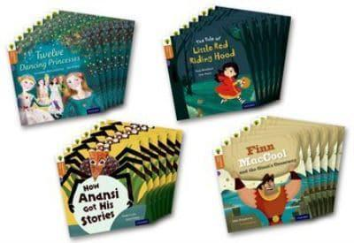 Oxford Reading Tree Traditional Tales: Level 8: Pack of 24