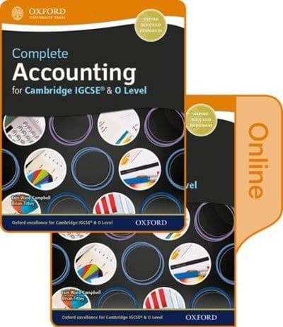 Complete Accounting For Cambridge O Level IGCSE Student