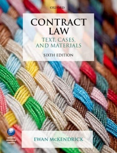 mckendrick e contract law pdf