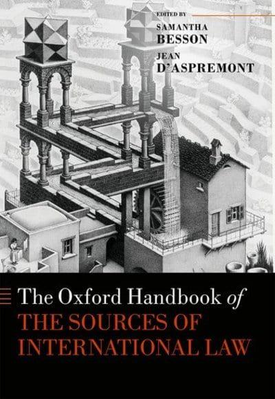 jacket, The Oxford Handbook on the Sources of International Law