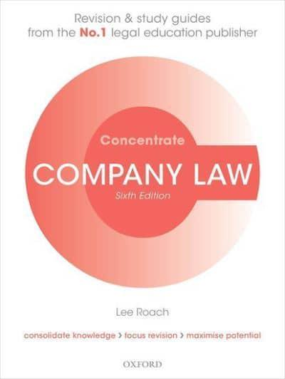 Company Law Concentrate