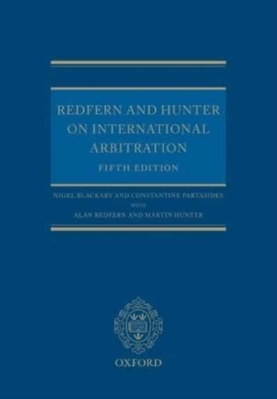 redfern and hunter on international arbitration pdf