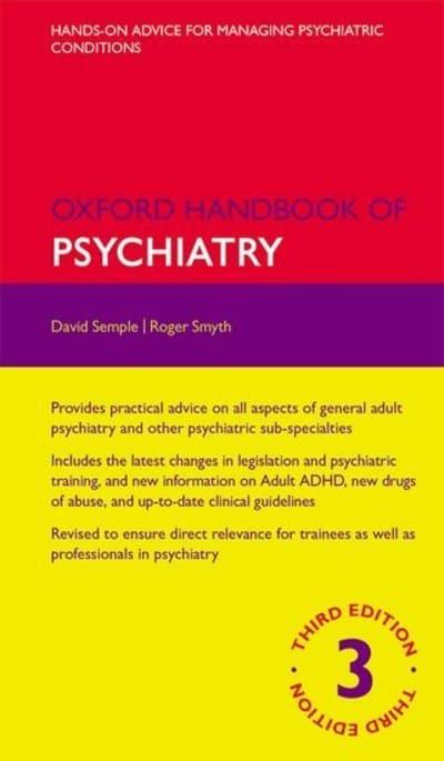 jacket, Oxford Handbook of Psychiatry