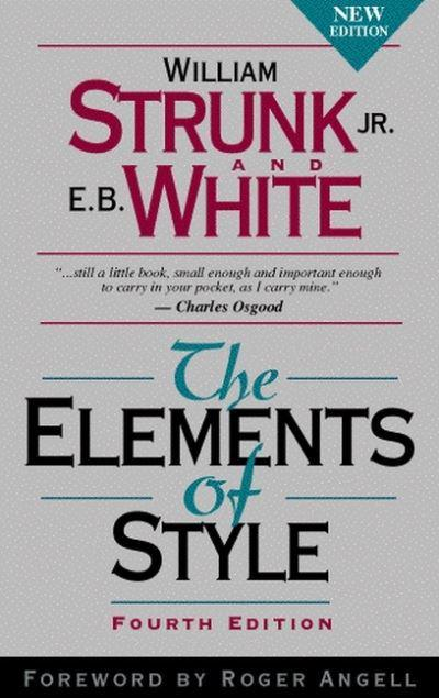 jacket, The Elements of Style
