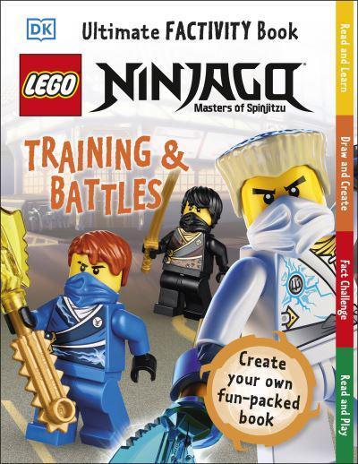 lego ninjago training  battles ultimate factivity book