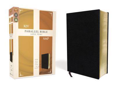 KJV, Amplified, Parallel Bible, Large Print, Bonded Leather