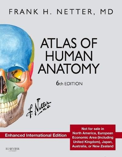 Atlas Of Human Anatomy Frank H Netter Author 9780323390095