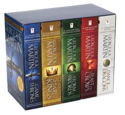 George R R Martin S A Game Of Thrones 5 Book Boxed Set Song Of Ice And Fire Series George R R Martin Author 9780345540560 Blackwell S