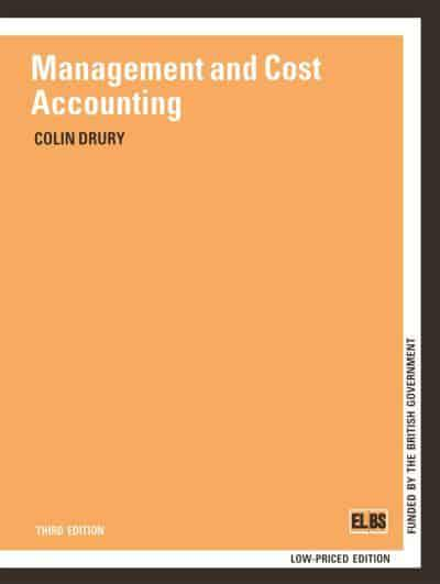 drury management and cost accounting 9th edition pdf