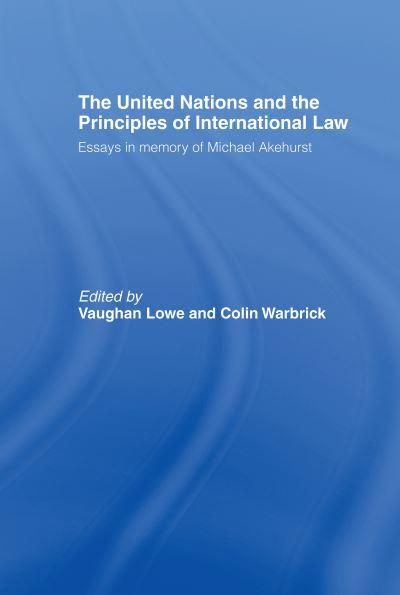 jacket, The United Nations and the Principles of International Law