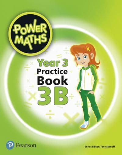 Power Maths Year 3 Pupil Practice Book 3B : Tony Staneff
