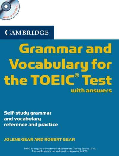 Cambridge Grammar and Vocabulary for the TOEIC Test with Answers -Used