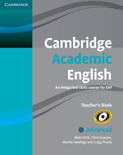 Cambridge academic english advanced teachers book matt firth cambridge academic english advanced teachers book an integrated skills course for eap fandeluxe Images