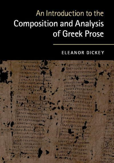 An introduction to the analysis of prose writing