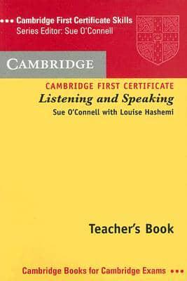 Cambridge Complete First Certificate Teachers Book