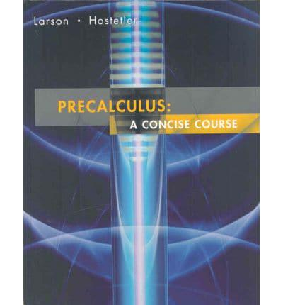 Larson Precalculus Concise Plus Study and Solutions Guide