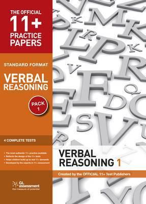 11+ Practice Papers, Verbal Reasoning Pack 1, Standard Format: Test