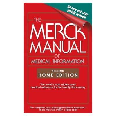 the merck manual of medical information home edition