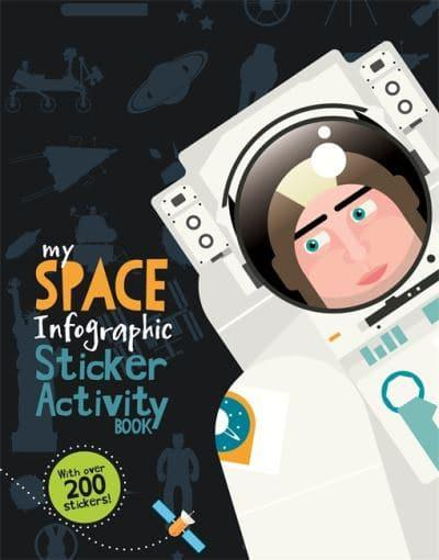 My Space Infographic Sticker Activity Book