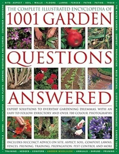 The complete illustrated encyclopedia of 1001 garden for Gardening questionnaire
