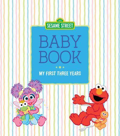 Jacket Sesame Street Baby Book