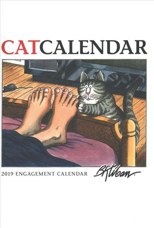 B. Kliban Catcalendar 2019 Diary : Kliban, : 9780764979972 ...